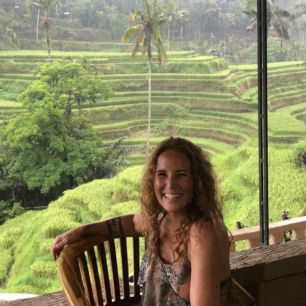 Esther Stevens in Bali